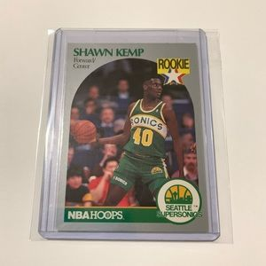 Shawn Kemp '90 Hoops Rookie Card